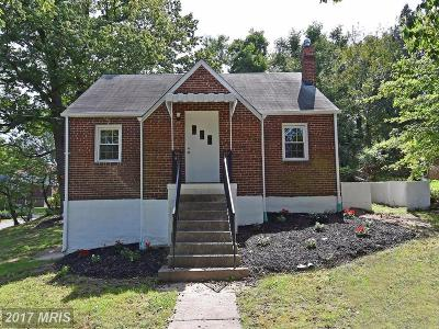 Hyattsville Single Family Home For Sale: 6409 Flanders Drive