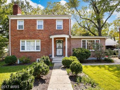 Hyattsville Single Family Home For Sale: 4005 Queensbury Road