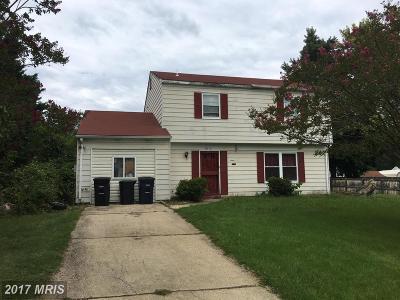Upper Marlboro Single Family Home For Sale: 9812 Ambler Lane