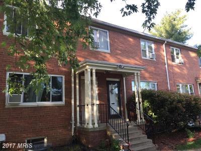 Hyattsville Single Family Home For Sale: 1802 Jasmine Terrace #1