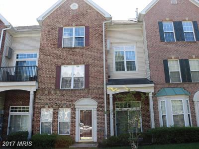 Bowie Townhouse For Sale: 9903 Greenspire Way #136