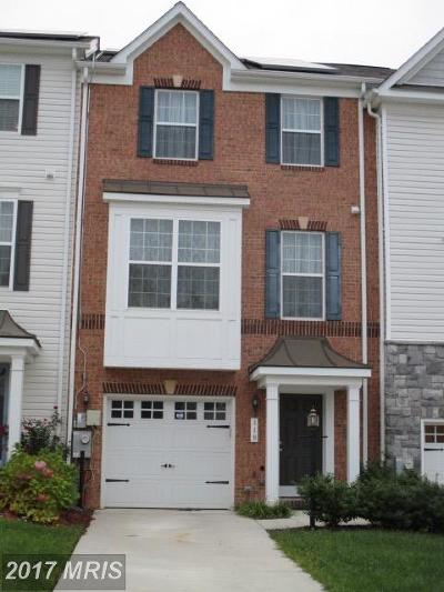 Capitol Heights Townhouse For Sale: 110 Gray Street