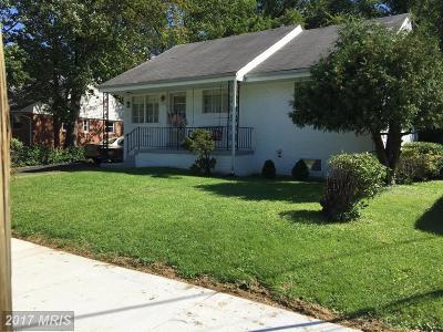 Hyattsville Single Family Home For Sale: 1717 Merrimac Drive