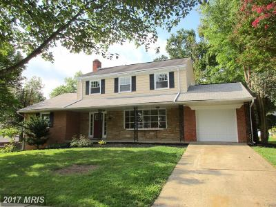 Upper Marlboro Single Family Home For Sale: 11207 Lochton Street