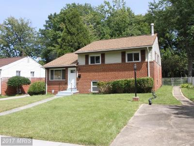Woodlawn Single Family Home For Sale: 4819 Glenoak Road