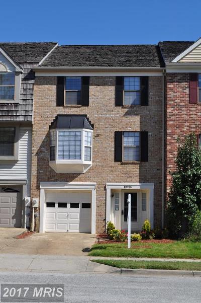 Laurel Townhouse For Sale: 8225 Northview Court