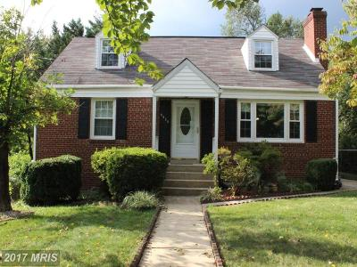 Temple Hills Single Family Home For Sale: 5625 Fisher Road