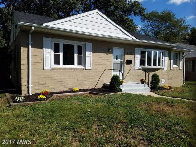 Single Family Home For Sale: 9110 Ardwick Ardmore Road