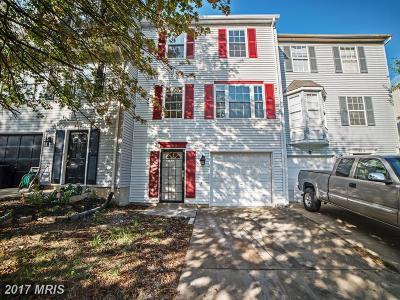 Suitland Townhouse For Sale: 4112 Silver Park Terrace