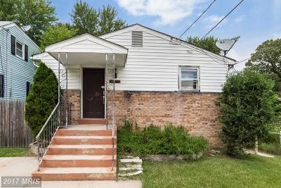 Beltsville Single Family Home For Sale: 4802 Lexington Avenue