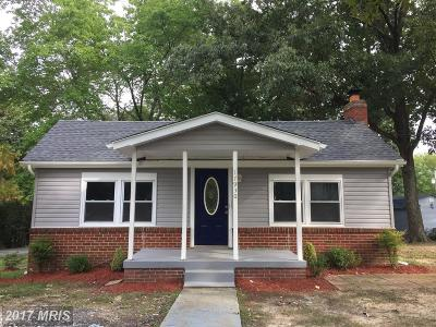 Accokeek Single Family Home For Sale: 17930 Beech Lane