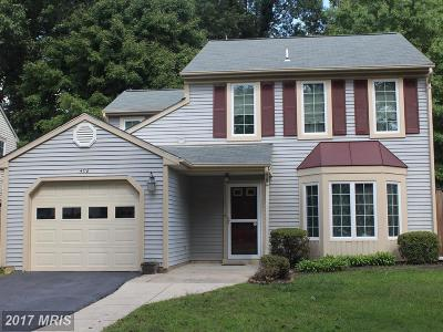 Upper Marlboro Single Family Home For Sale: 4718 Colonel Darnell Place