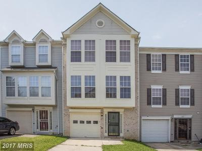 Suitland Townhouse For Sale: 2323 White Owl Way NW