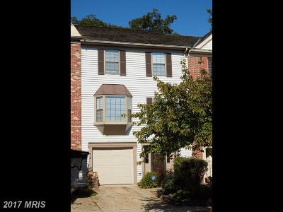 Laurel Townhouse For Sale: 8046 Ashford Boulevard