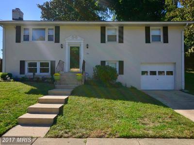 Fort Washington Single Family Home For Sale: 7303 Den Meade Avenue