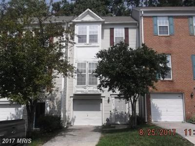 Upper Marlboro Townhouse For Sale: 8419 Old Colony Drive S