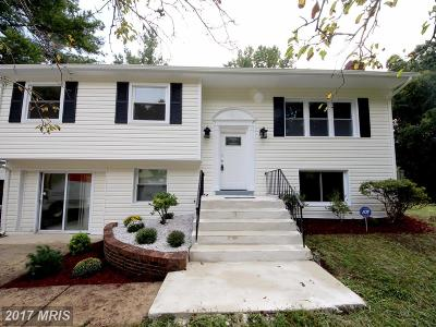 Upper Marlboro Single Family Home For Sale: 16711 Wardlow Road