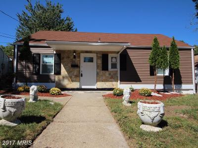 District Heights Single Family Home For Sale: 6118 Belwood Street