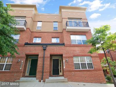 College Park Townhouse For Sale: 9607 Milestone Way