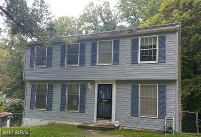 Clinton MD Single Family Home For Sale: $222,600