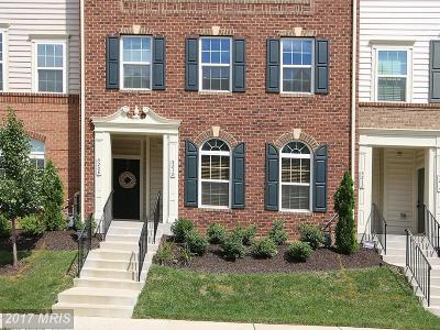 Greenbelt Townhouse For Sale: 5210 Stream Bank Lane #301G