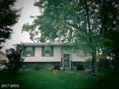 Lanham Single Family Home For Sale: 6526 Edgerton Drive