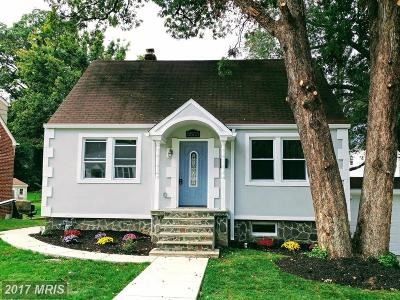 Hyattsville Single Family Home For Sale: 5503 Farragut Street