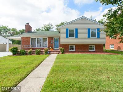 Lanham Single Family Home For Sale: 6806 99th Avenue