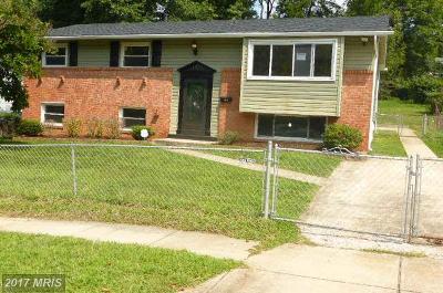 Oxon Hill Single Family Home For Sale: 1810 Ironton Drive