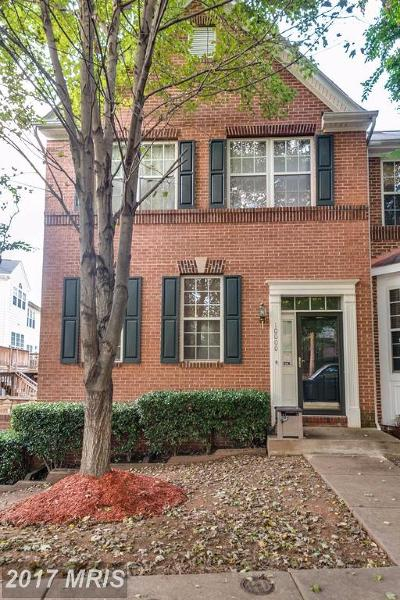 Bowie Townhouse For Sale: 10000 Juniper Drive