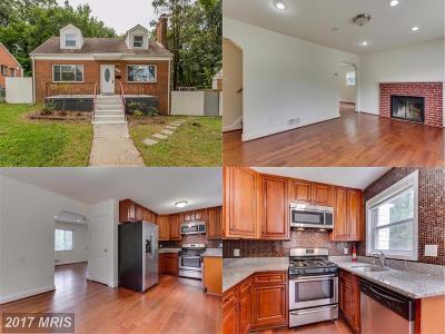 Hyattsville Single Family Home For Sale: 5613 Monroe Street