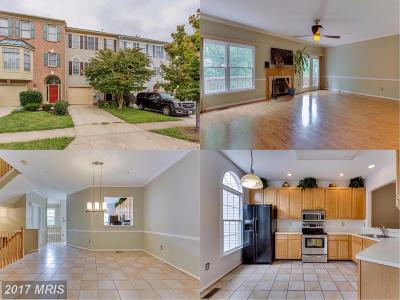 Bowie Townhouse For Sale: 7818 Quill Point Drive