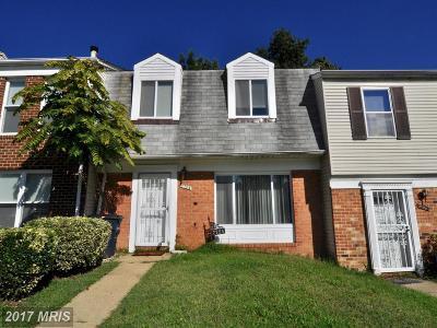 Landover Townhouse For Sale: 7724 Merrick Lane