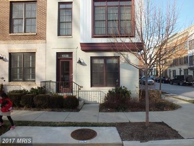 Hyattsville Townhouse For Sale: 4328 Kennedy Street