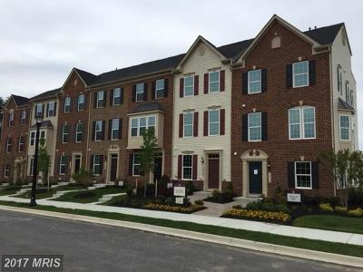Upper Marlboro Townhouse For Sale: 10500 Observatory Place
