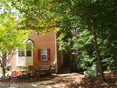 Bowie Townhouse For Sale: 13112 Silver Maple Court