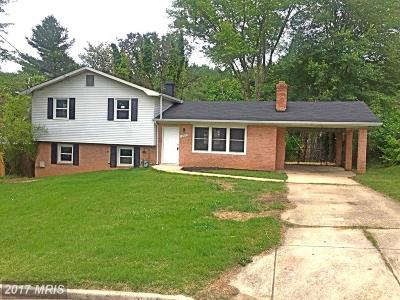 Clinton MD Single Family Home For Sale: $289,900