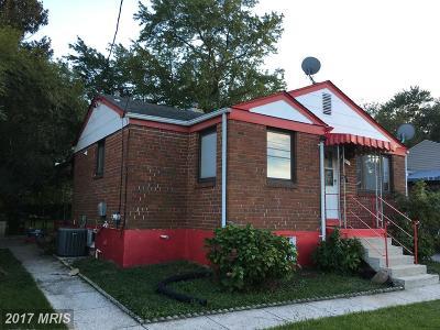 Hyattsville Single Family Home For Sale: 2417 University Boulevard E
