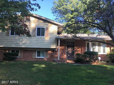 Cheverly Single Family Home For Sale: 3132 Hillside Avenue