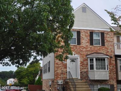Laurel Townhouse For Sale: 7574 Cherry Lane #6A