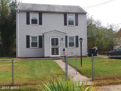 Hyattsville Single Family Home For Sale: 6315 Sligo Parkway