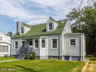 Laurel Single Family Home For Sale: 125 Irving Street