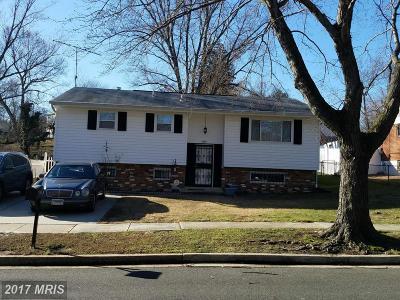 District Heights Rental For Rent: 1317 Woodlark Drive