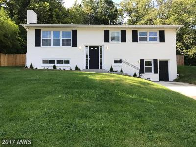 Fort Washington MD Single Family Home For Sale: $355,000