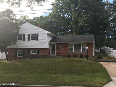 Beltsville Single Family Home For Sale: 3111 Chapel View Drive