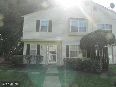 Upper Marlboro Townhouse For Sale: 10429 Campus Way S