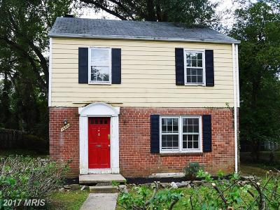 Hyattsville Single Family Home For Sale: 1509 Amherst Road