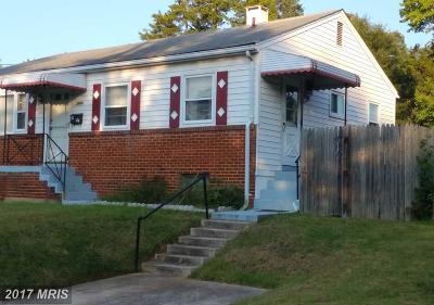 Hyattsville Single Family Home For Sale: 3904 Thornwood Road
