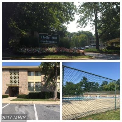 District Heights Rental For Rent: 7226 Donnell Place #B