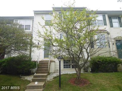 Upper Marlboro Townhouse For Sale: 913 Dunloring Court
